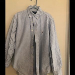 Boys Ralph Lauren striped button down